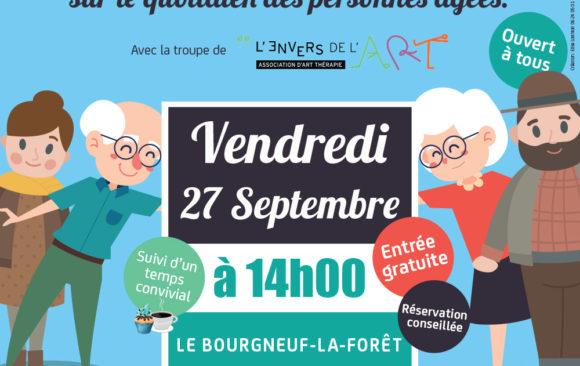 Théâtre forum à Bourneuf-la-Forêt / 27 sept 2019 – 14 heures