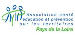 Logo Association santé éducation et prévention sur les territoires