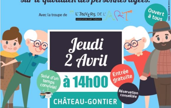 Théâtre forum à Château-Gontier – St Fort / 2 avril 2020 – 14 heures